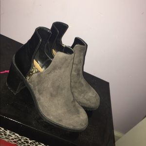 Zara ankle cut out boots